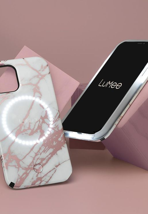 Halo Rose Gold iPhone 12/12 Pro Max Case