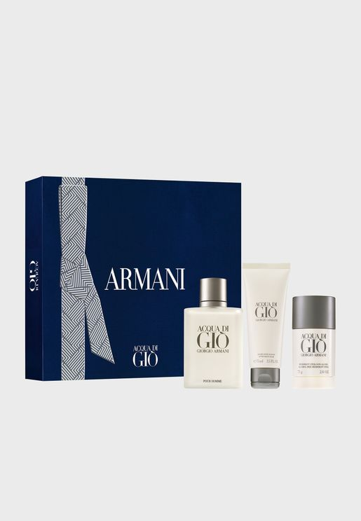 Acqua Di Gio Perfume Set Edt