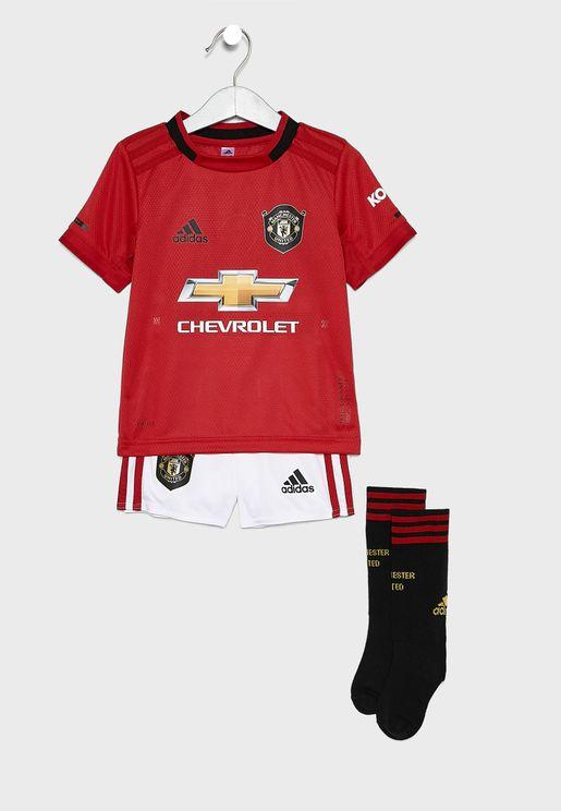 Kids Manchester United 19/20 Home Set