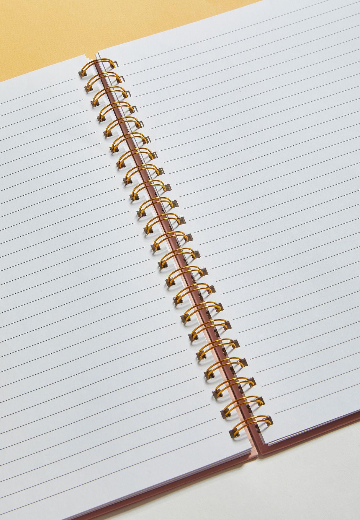 دفتر محاضرات بطبعات عبارات