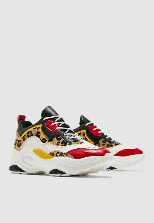 Pounce Chunky Sneaker - Multi