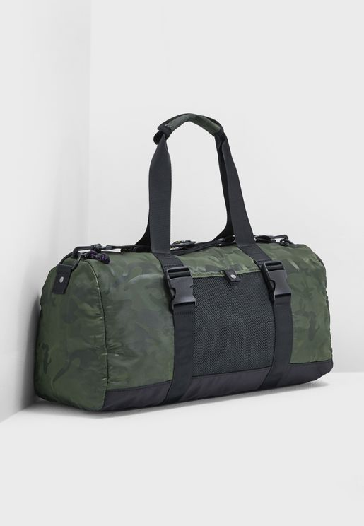Camo Gym Duffel Bag