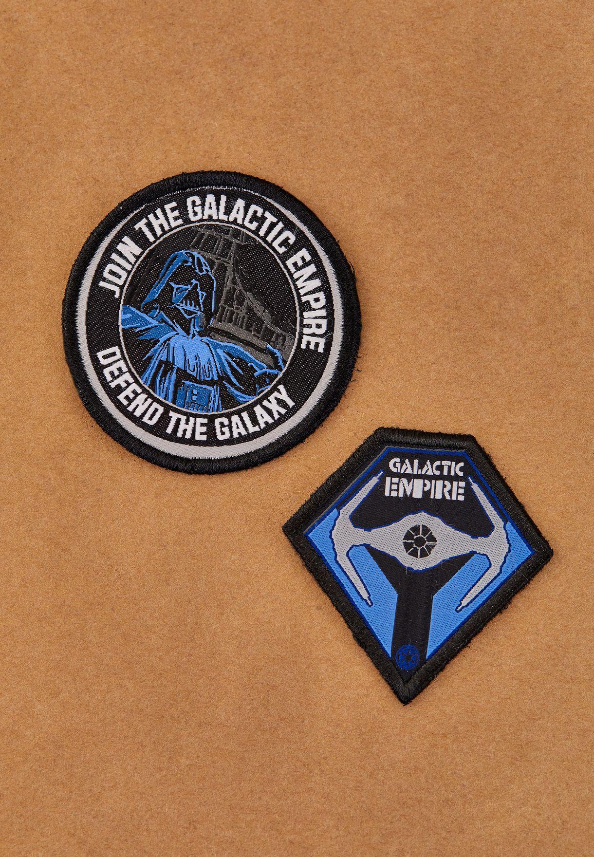 Medium Star wars Galactic Emire Duo Badge Pack