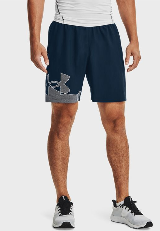 Graphic Woven Shorts