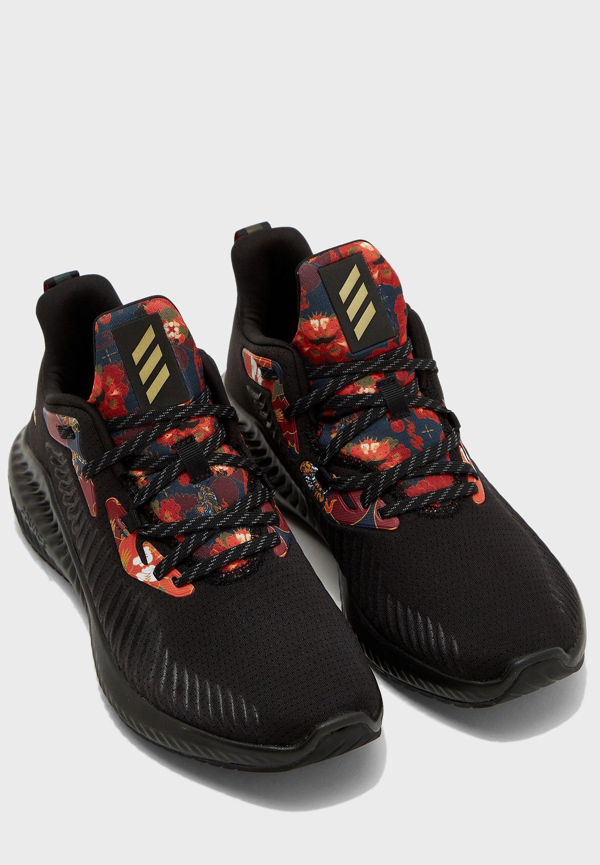 adidas alphabounce noire