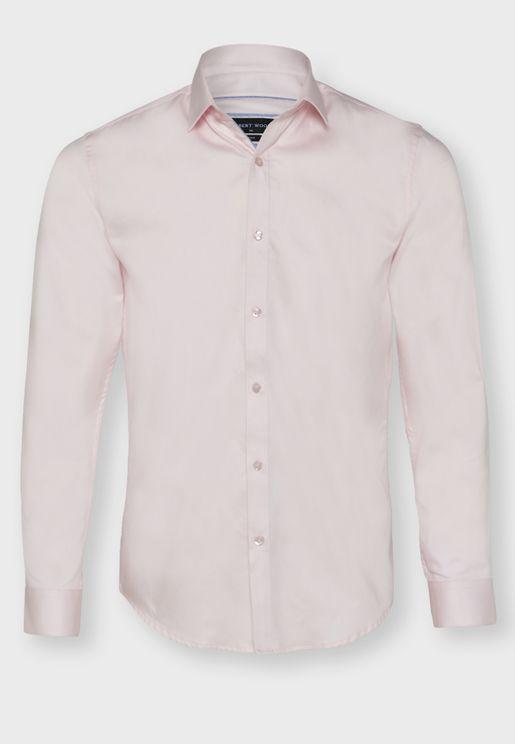 Dobby Print Shirt