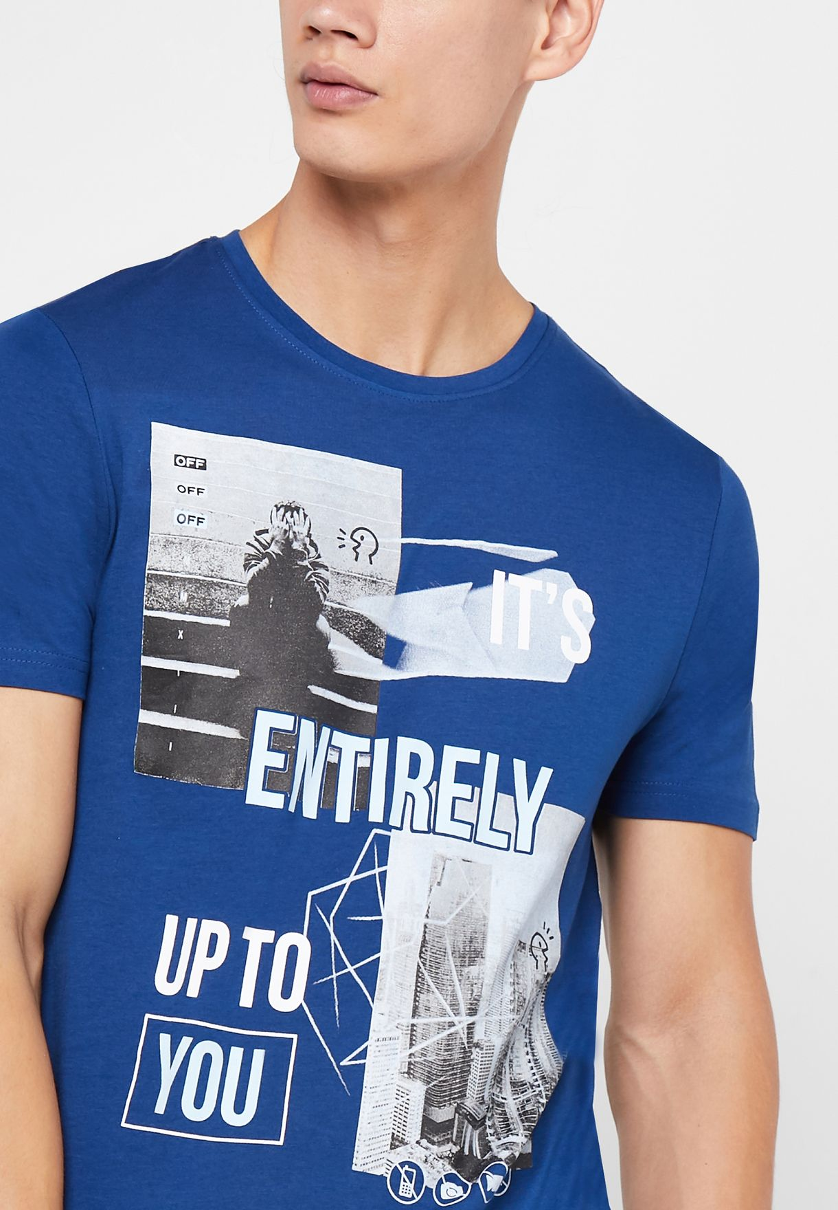 Entirely Up To You Crew Neck T-Shirt