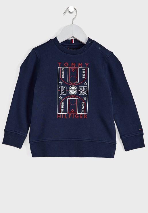 Kids Glow In The Dark Sweatshirt