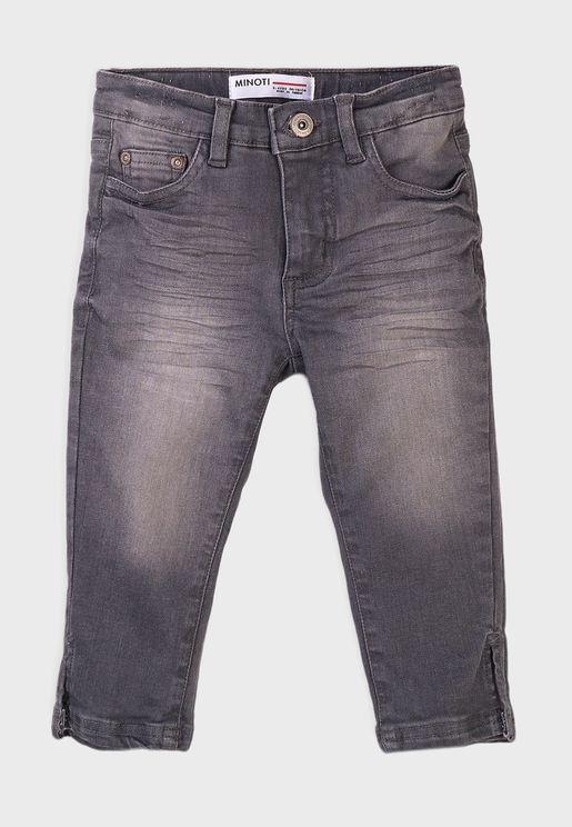 Infant Basic Regular Cropped Jean