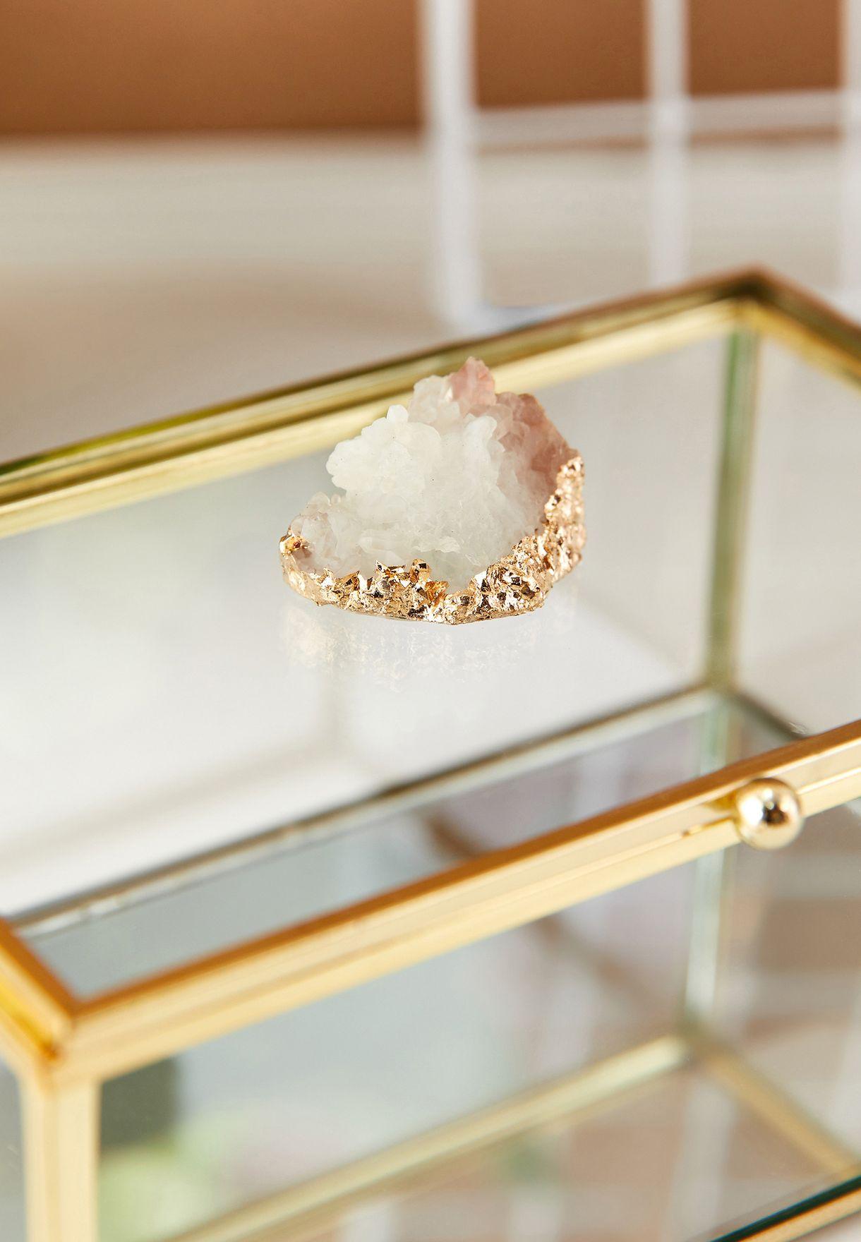 صندوق مجوهرات شفاف