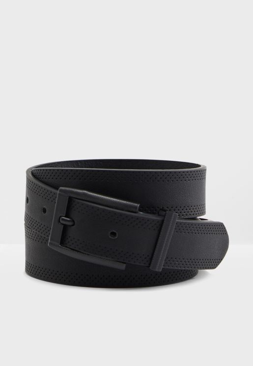 Embossed Edge Formal Belt