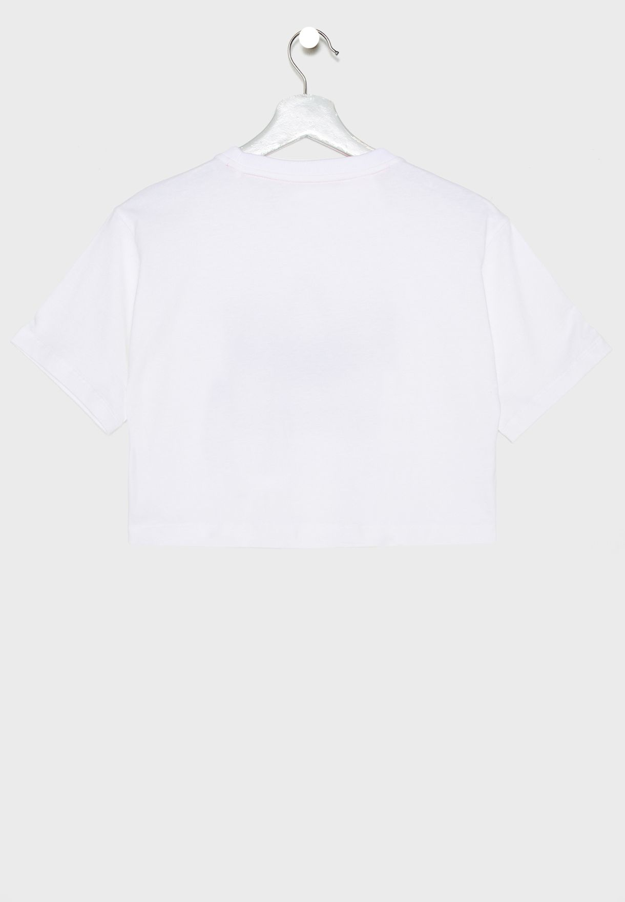 Youth Marble Cropped T-Shirt