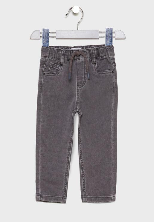 Infant Light Wash Jogg Jeans