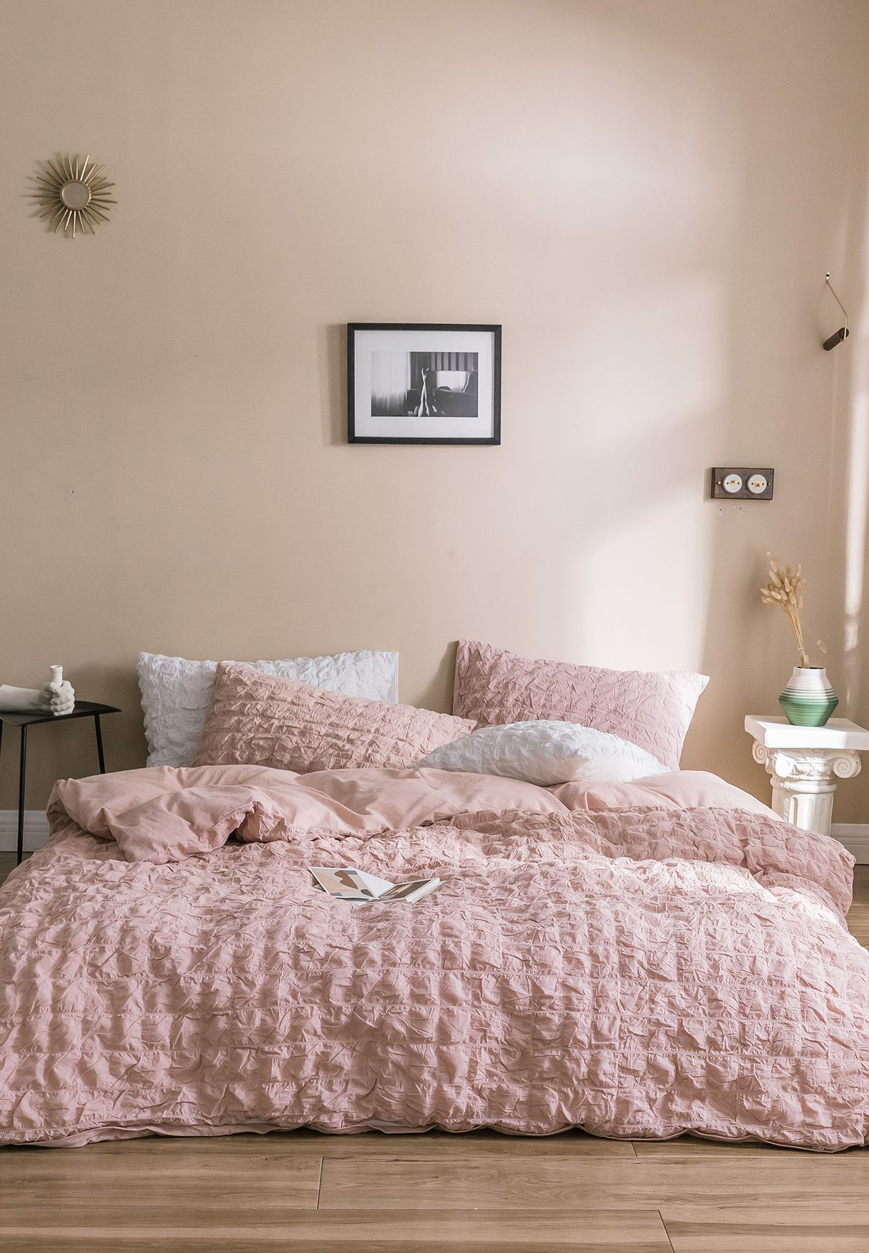 Quilted Bed Sheet Set - King 200 x 230cm