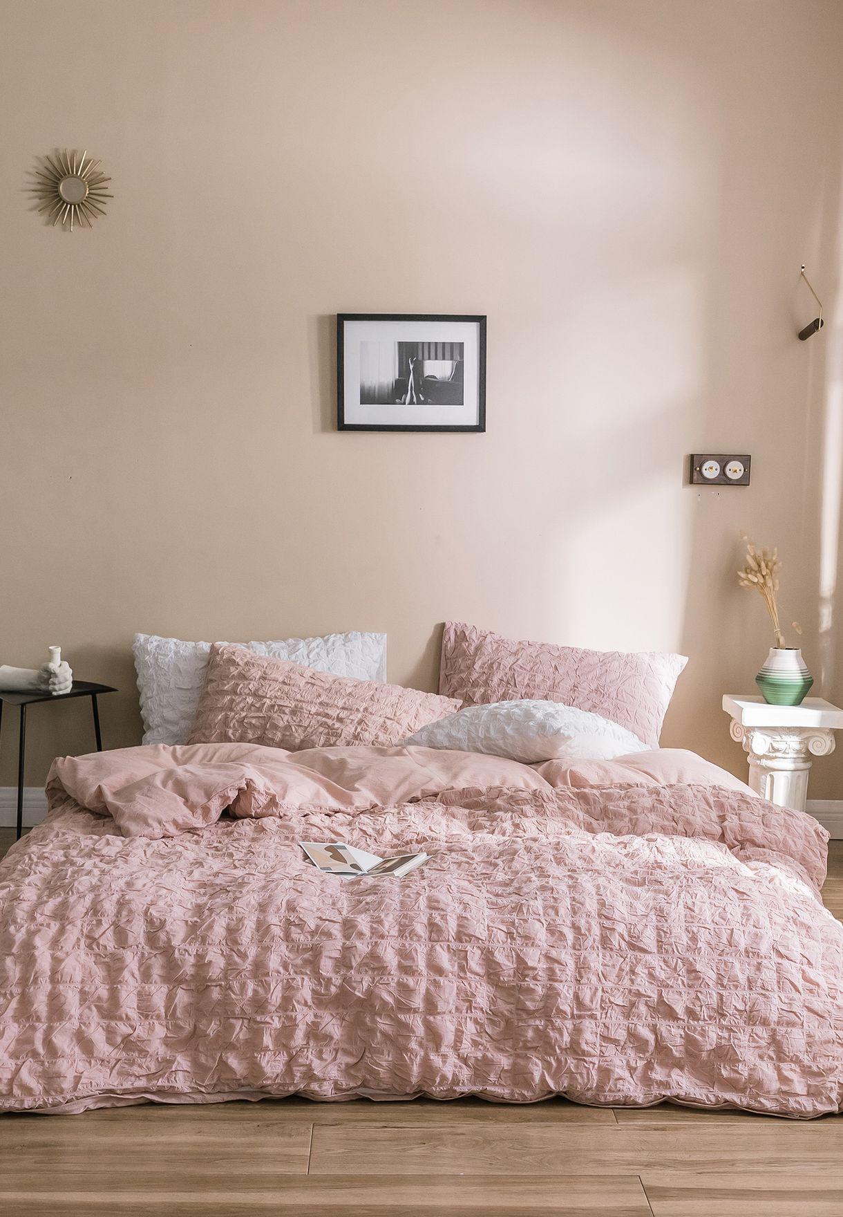 طقم شراشف سرير كينغ 200 × 230 سم