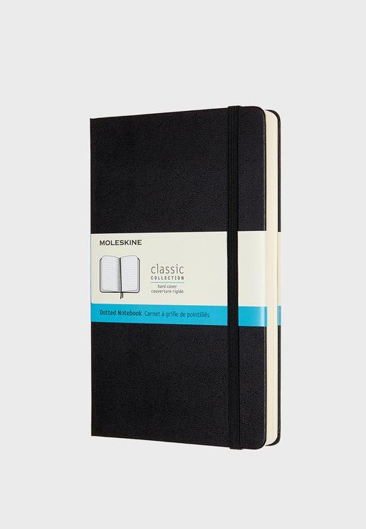 دفتر ملاحظات كبير بغلاف مقوي