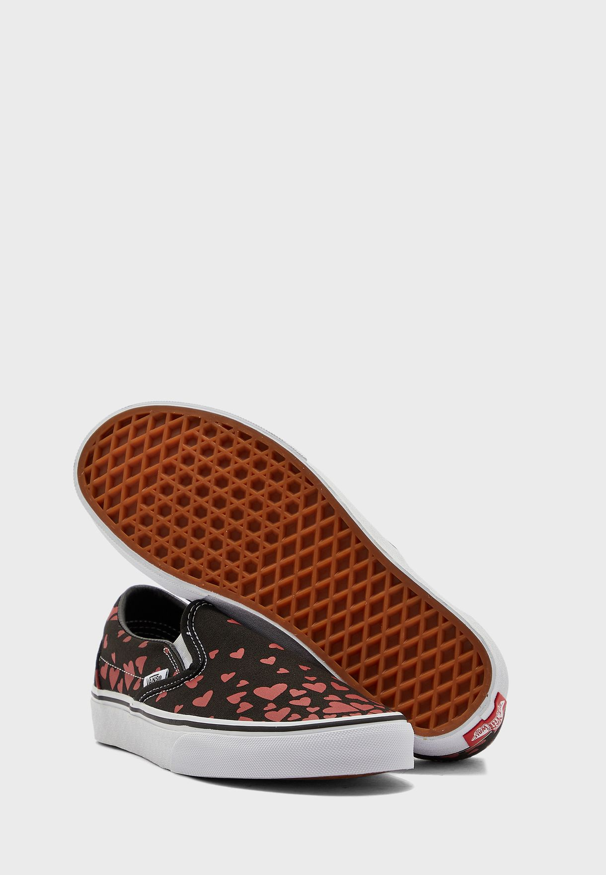 Valentines Hearts Classic Slip-Ons