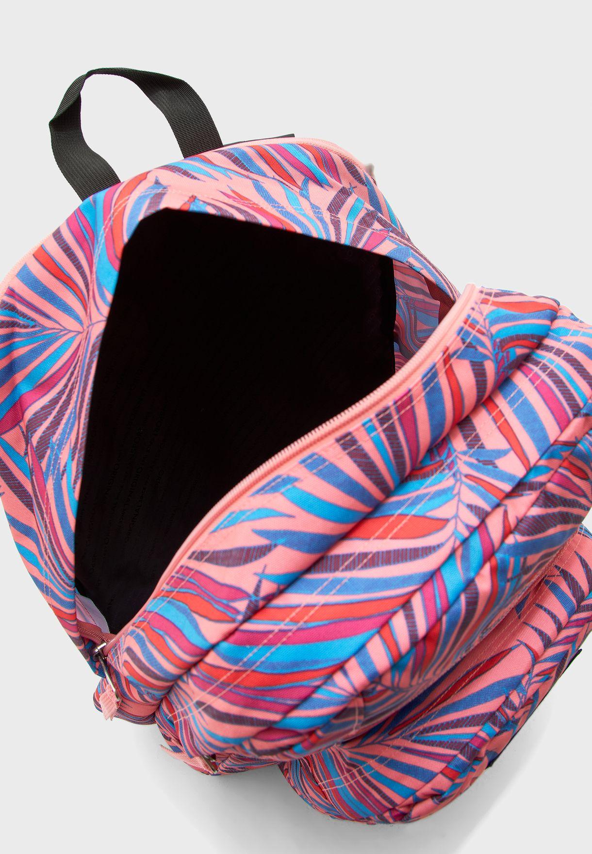 Big Student Printed Backpack