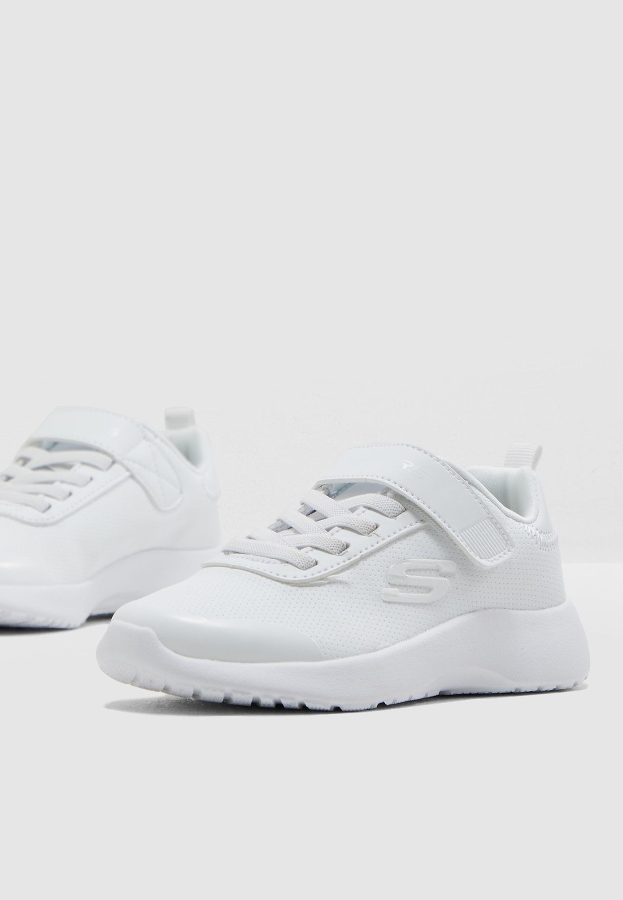 Shop Skechers white Kids Dynamight