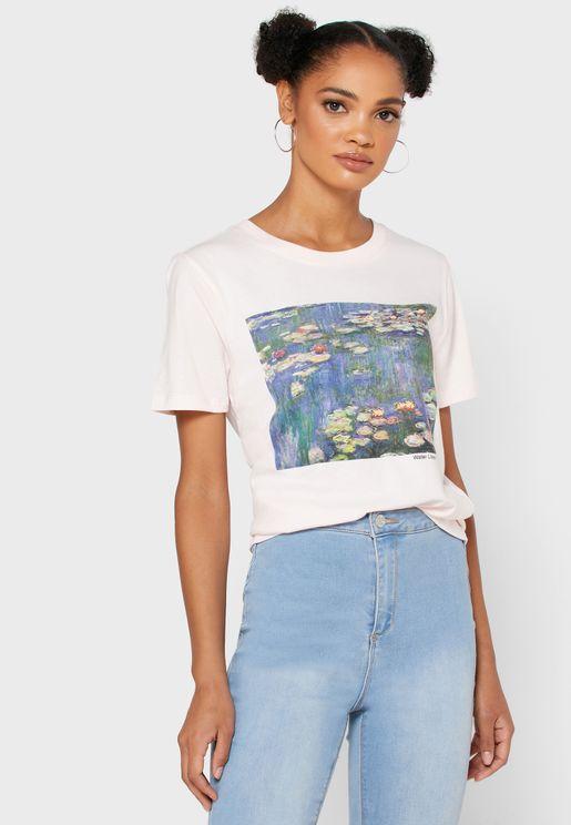 Graphic Crop T-Shirt
