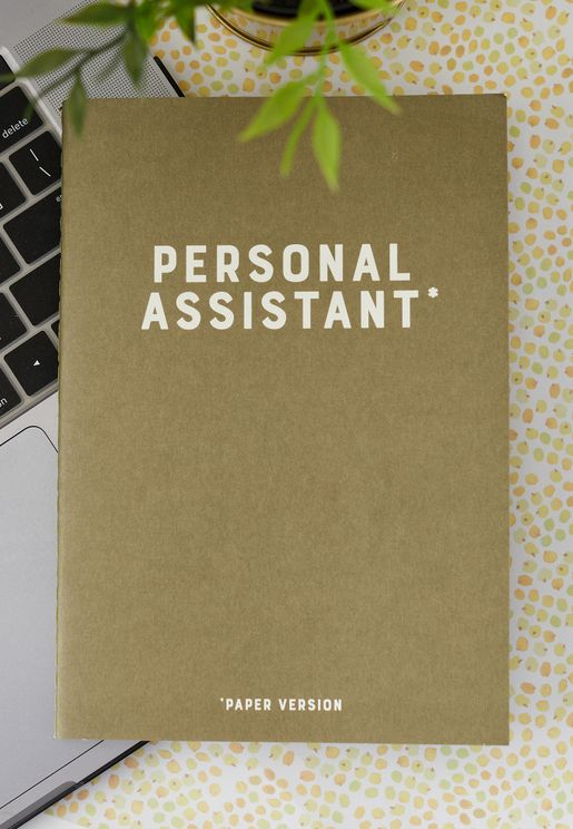 Personal Assitant Notebook