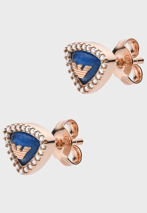 EG3444221 Logo Studded Earrings