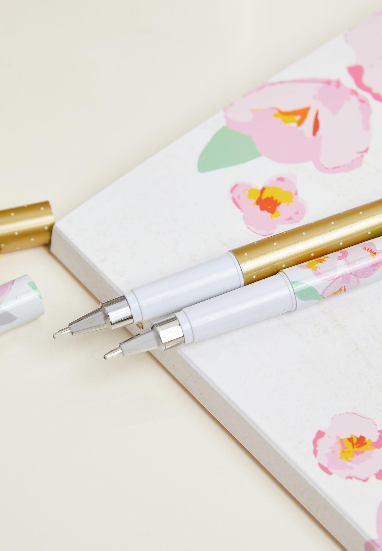 Notebook & Pen Stationery Set