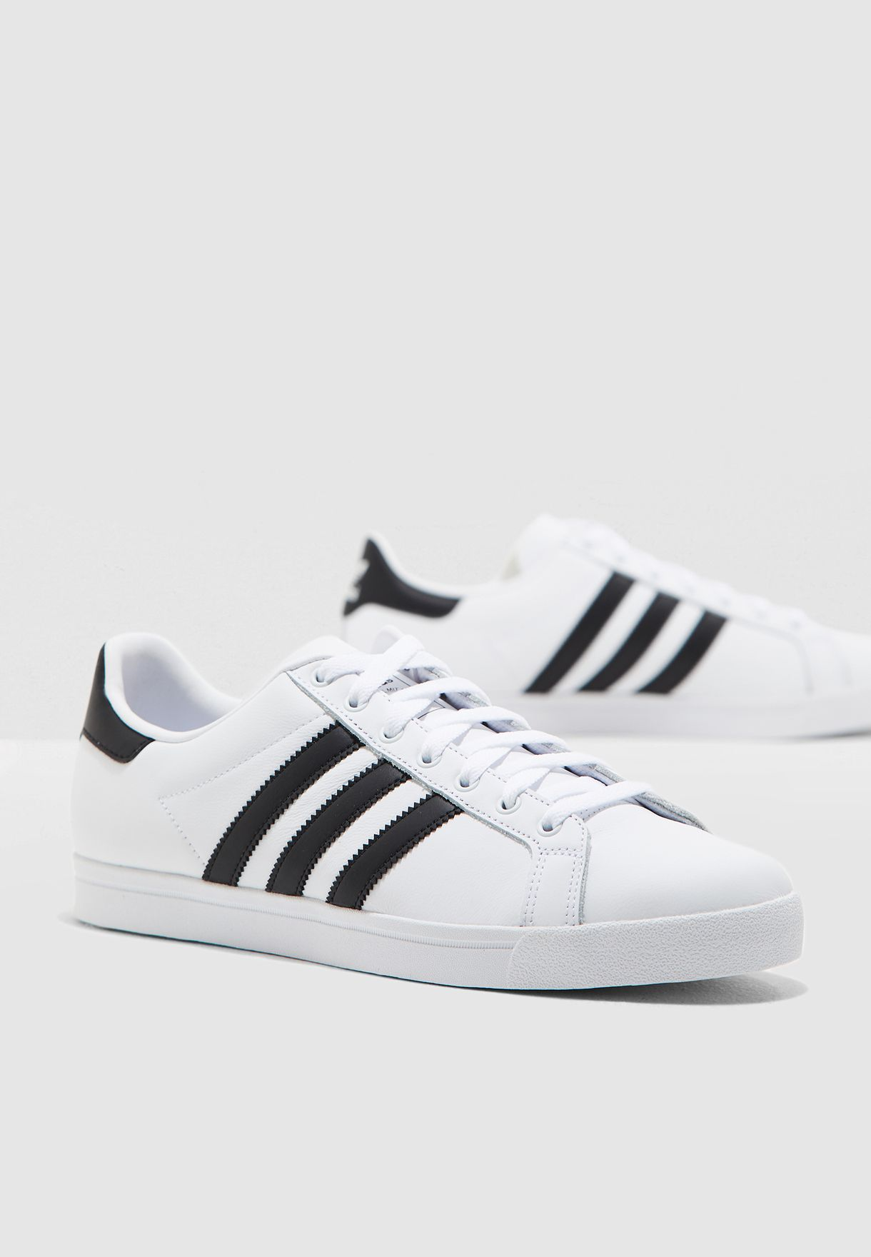 adidas Originals COAST STAR Black White Fast delivery