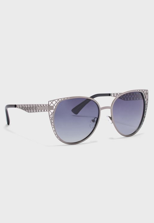 The Monarch Polarized Oversized Sunglasses