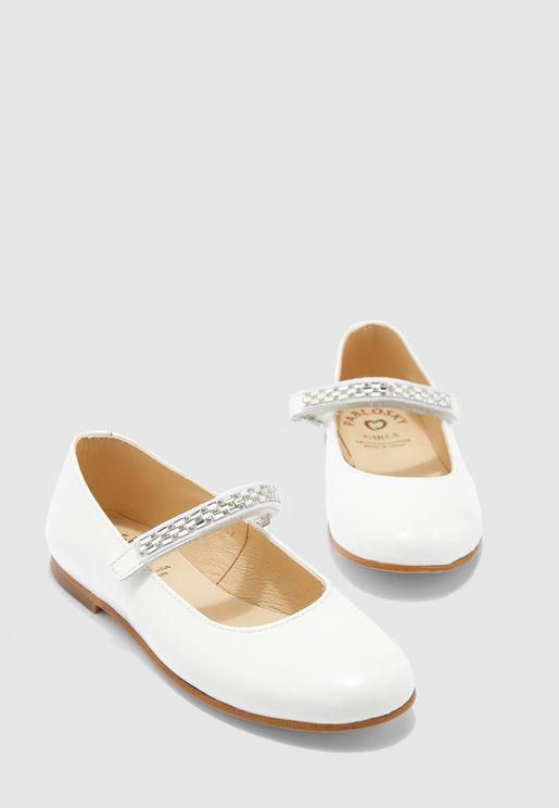 حذاء باليرينا بسيور