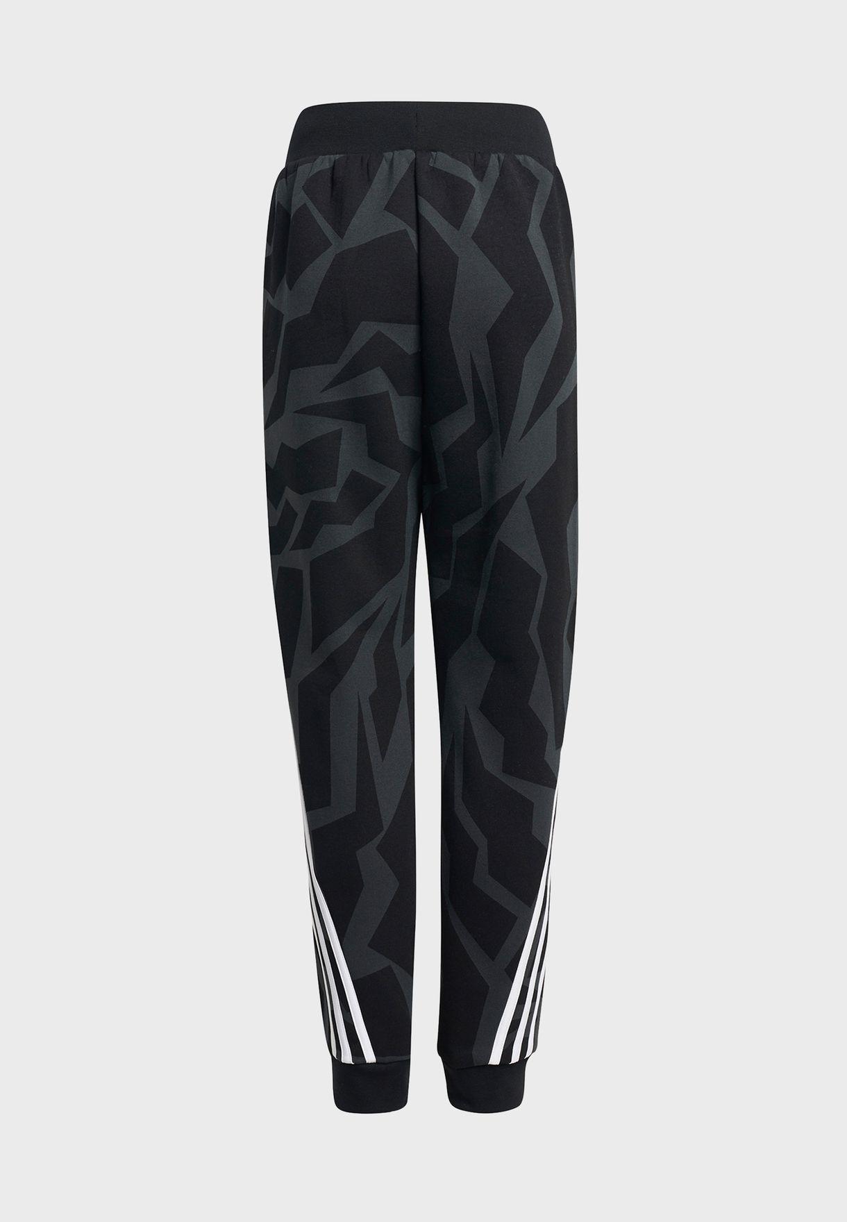 Youth Freelift 3 Stripe Tape Sweatpants