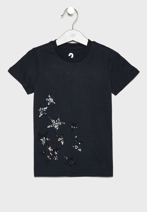 Kids Embellished T-Shirt