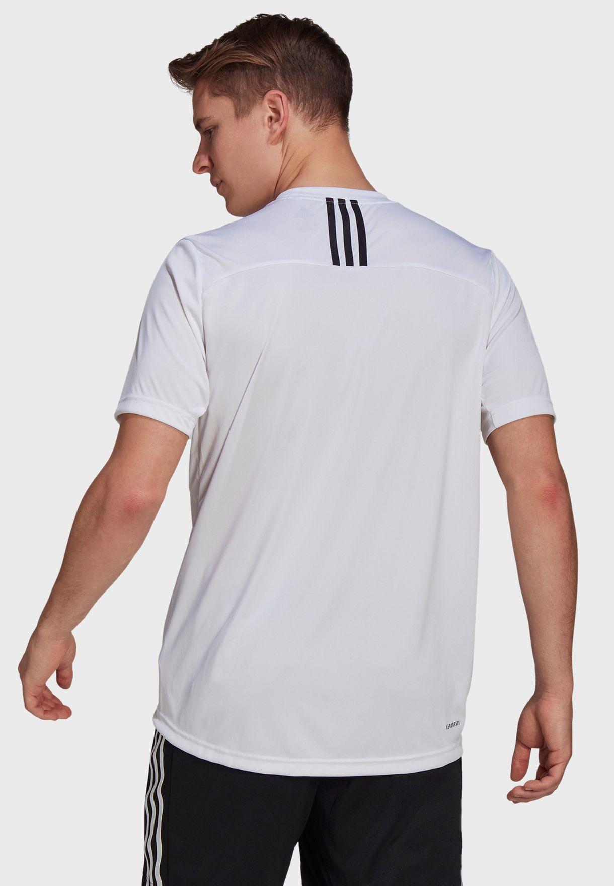 3 Stripe Back T-Shirt