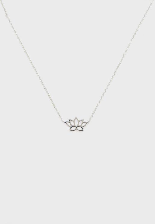 Spiritual Lotus Subrange Necklace