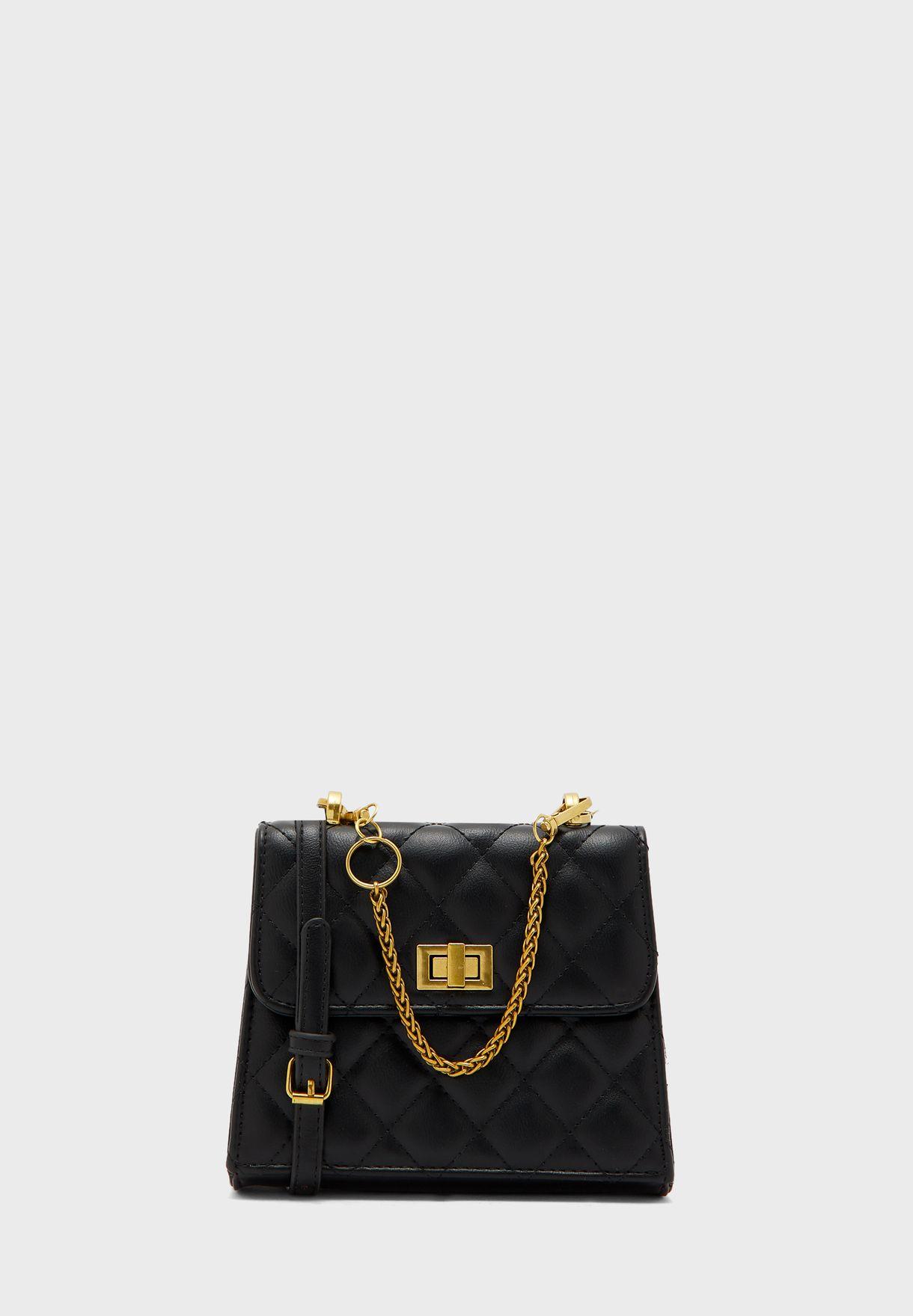 Quilted Mini Handbag