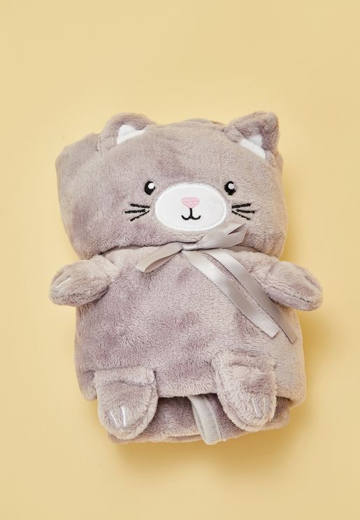 Kitty Cat Soft Fleece Blanket