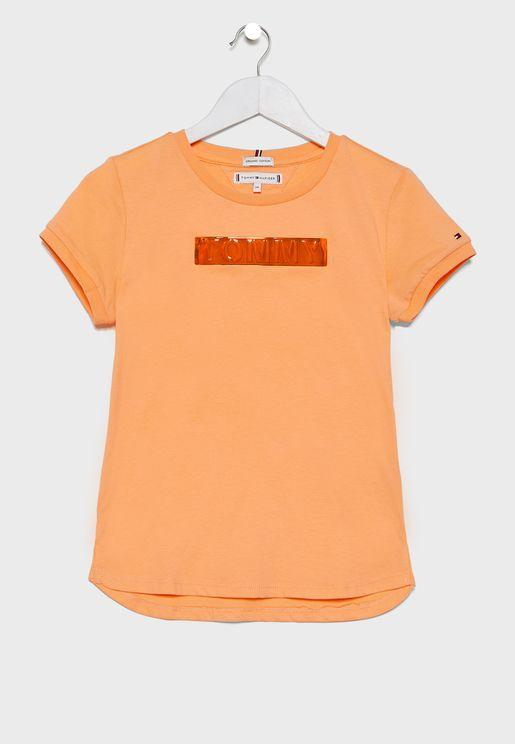 Teen Logo Crew Neck T-Shirt