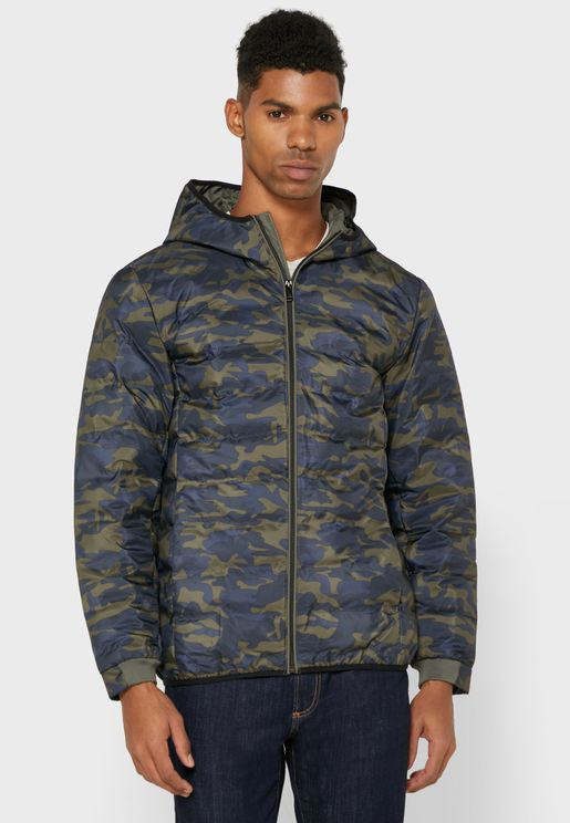 Technical Puffer Jacket