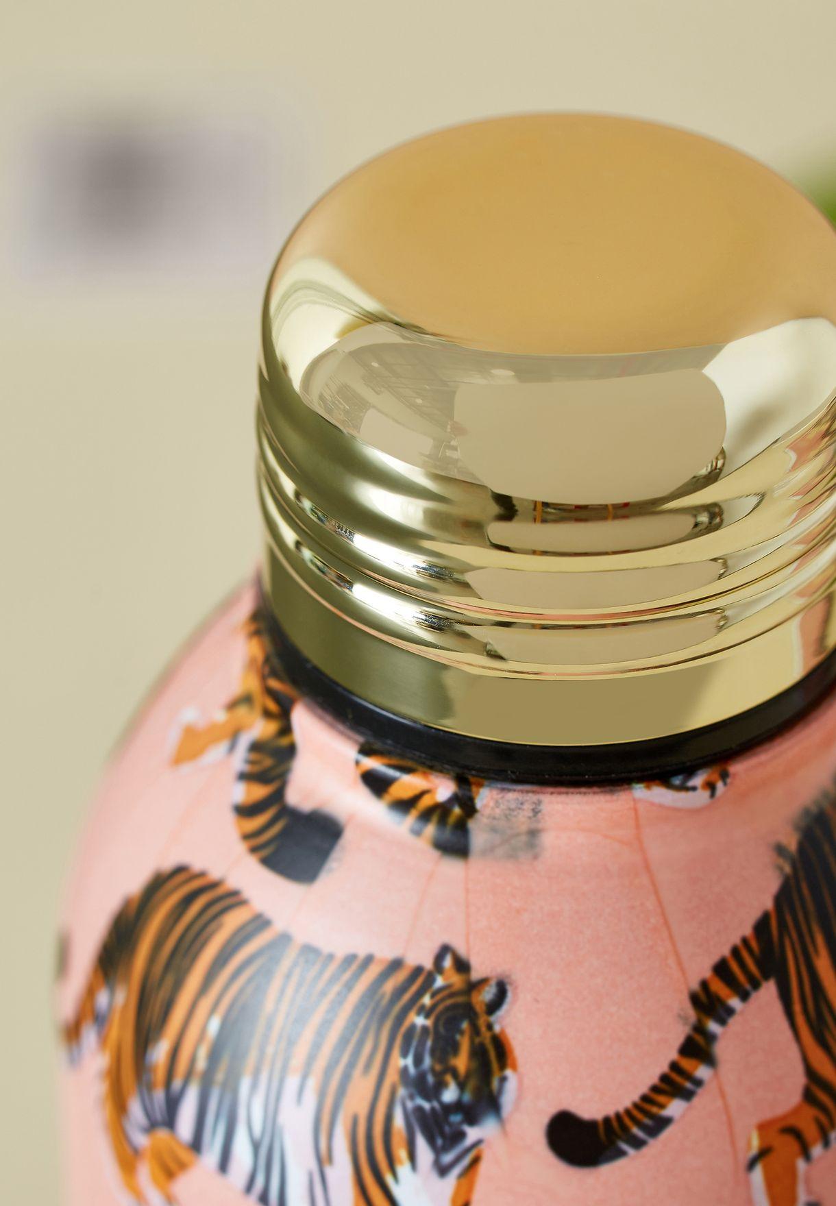Mini Tiger Yardage Print Drink Bottle 350ml