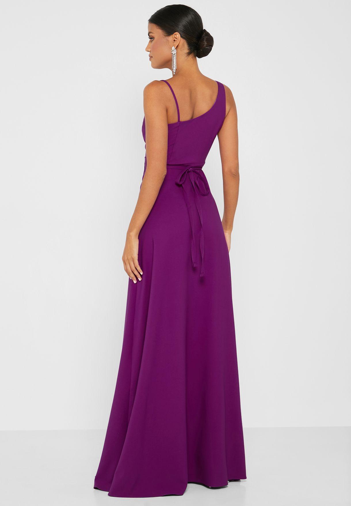 Tie Waist Wrap Dress