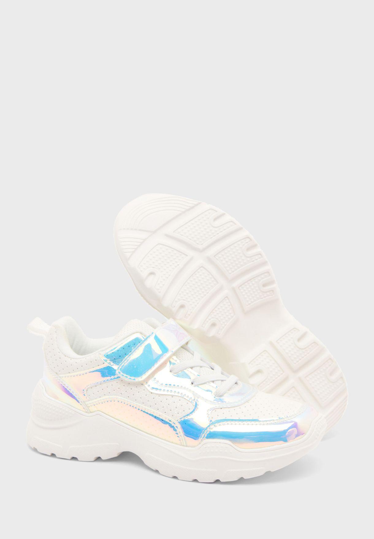 Kids Colo Block Sneaker