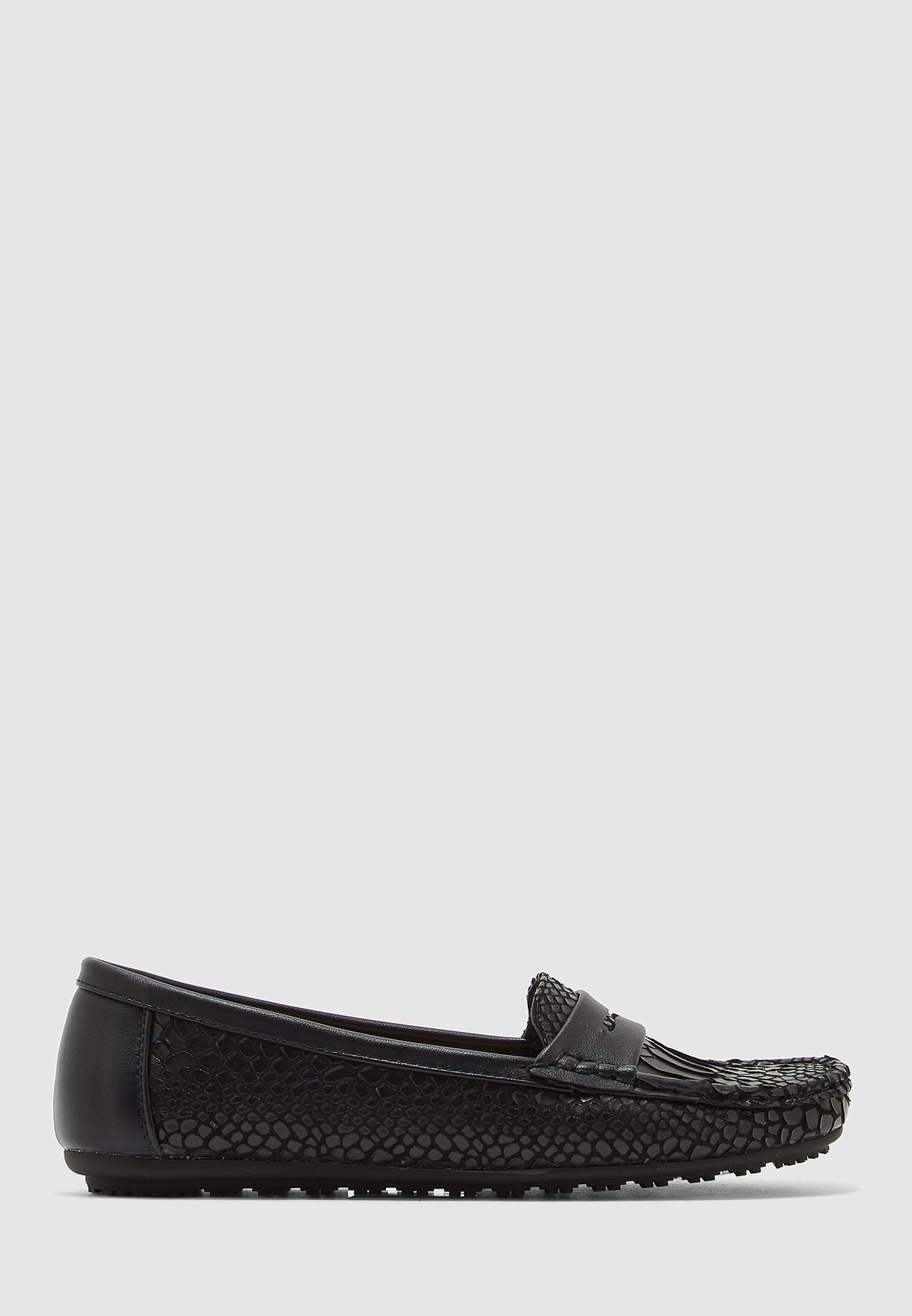 Casual Croc Detail Moccasin