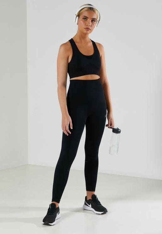 Cut Out Back Sports Bra & Legging Set