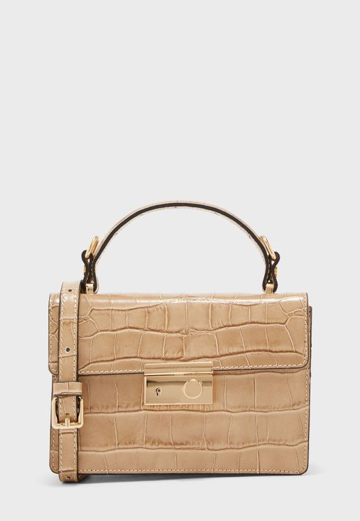 Front Button Crossbody