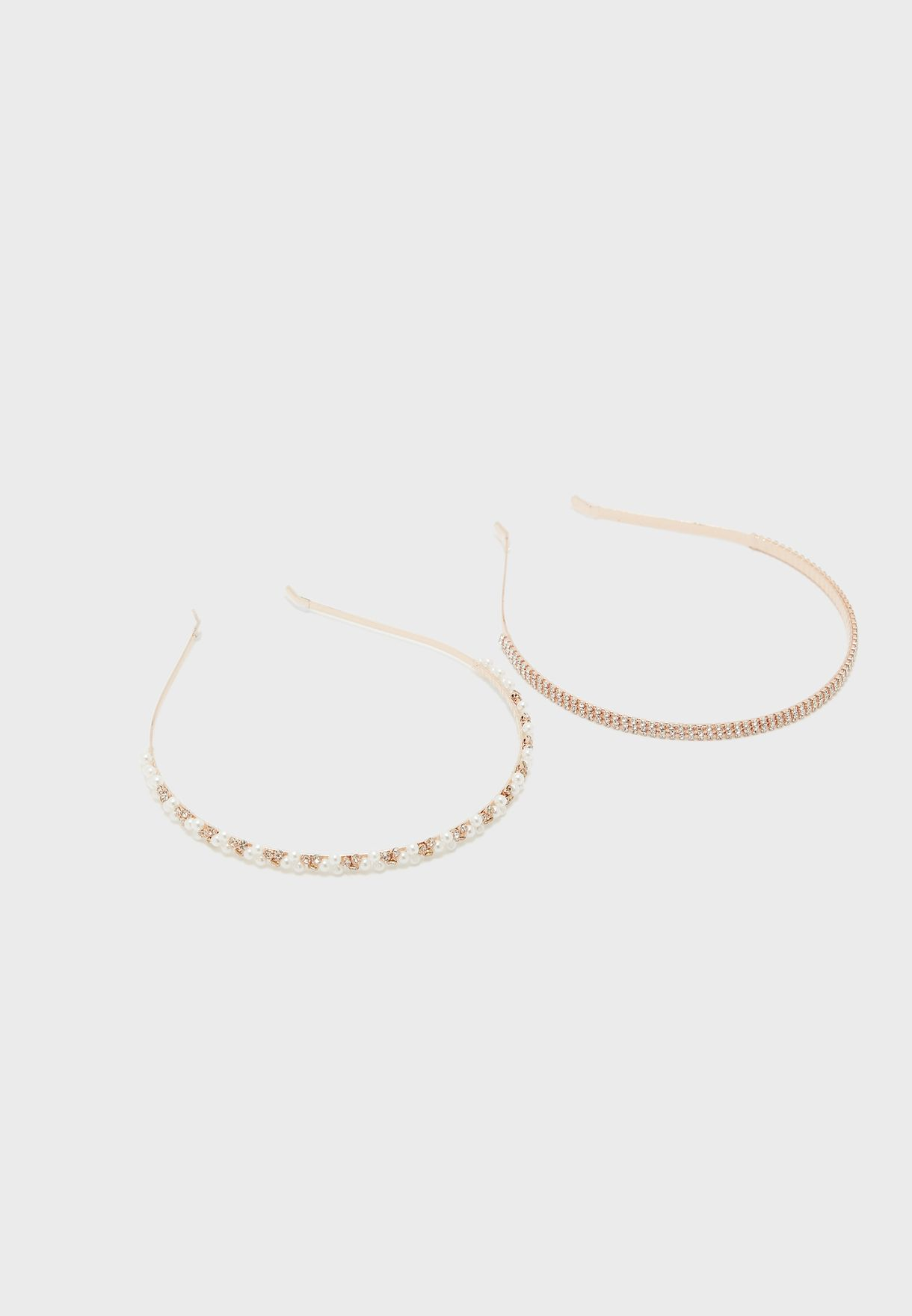 2 Pack Pearl Headband