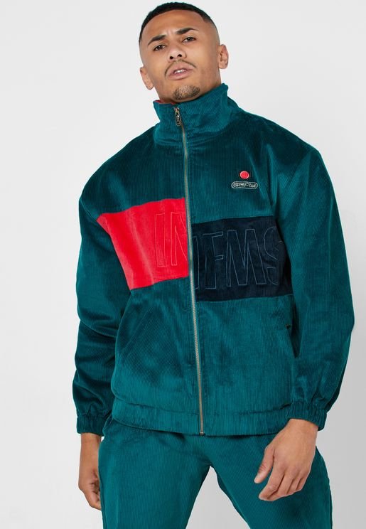 Engineering Corduroy Track Jacket
