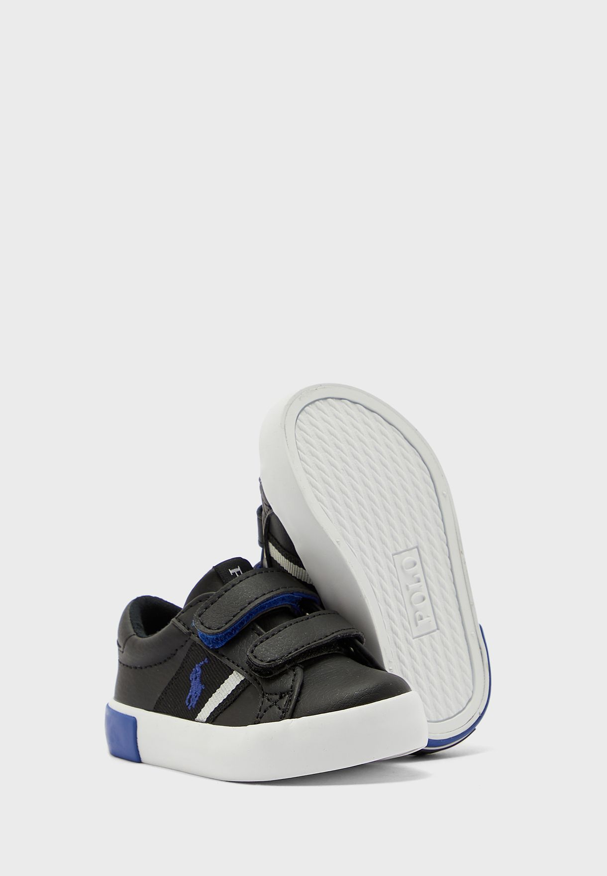 Infant Logo Double Strap Sneaker