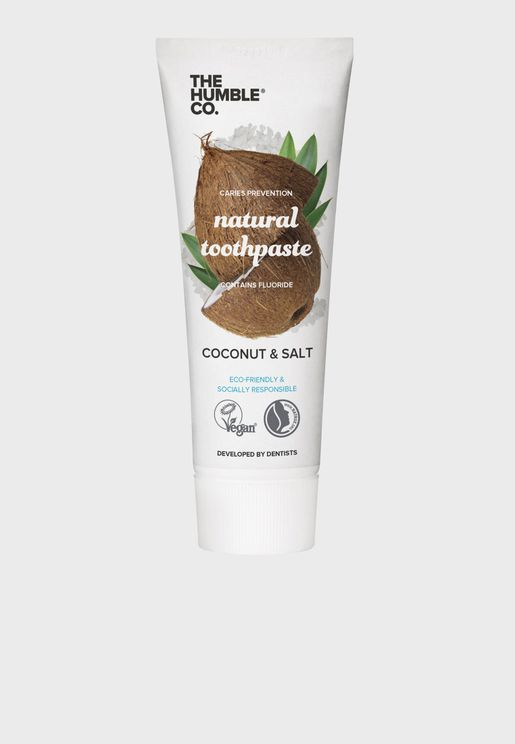Natural Coconut Flavour Toothpaste