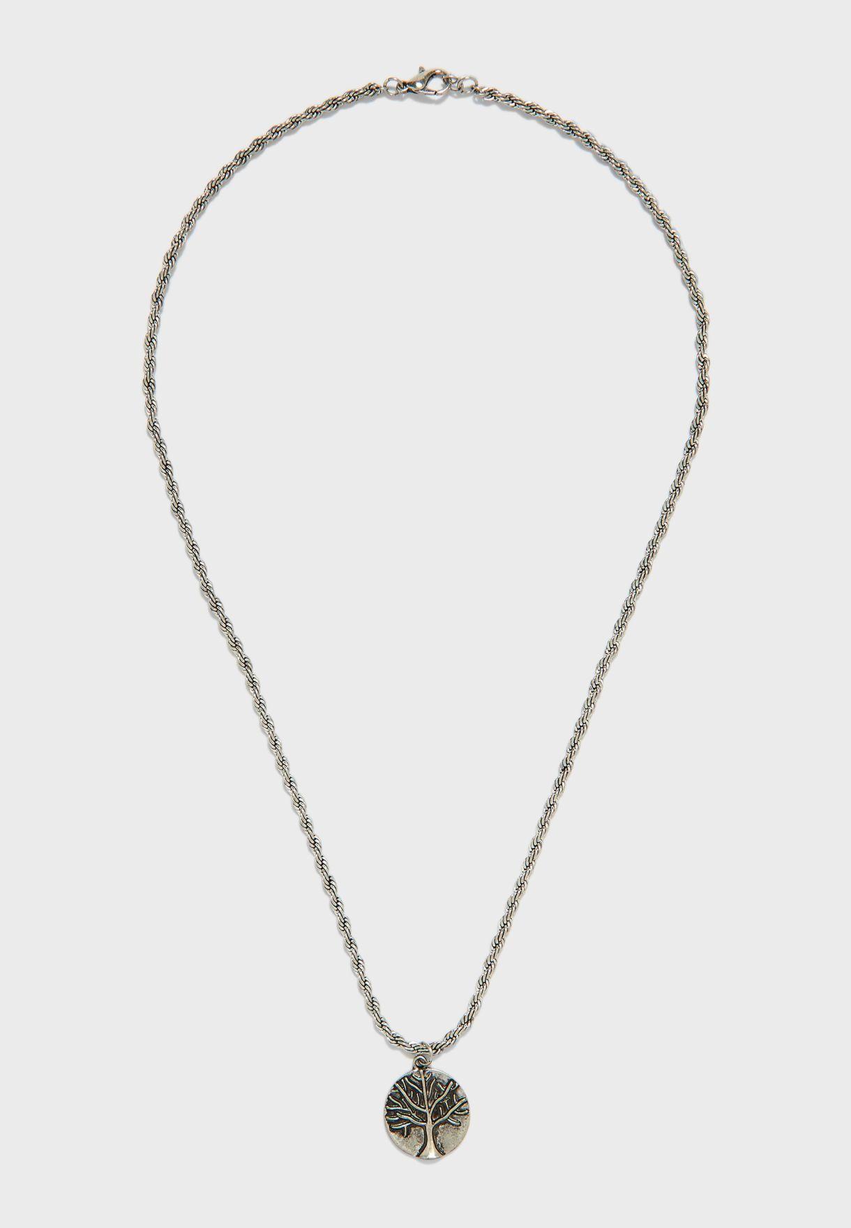 Tree Pendant Necklace