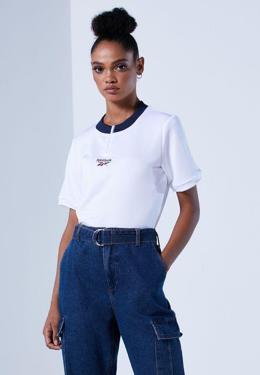 Classics Detail Cropped T-Shirt